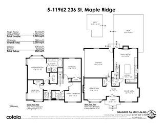 "Photo 35: 5 11962 236 Street in Maple Ridge: Cottonwood MR House for sale in ""DEWDNEY LANE"" : MLS®# R2590267"
