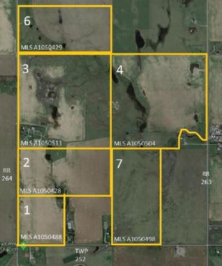 Photo 1: W4R26T25S16:5,6 Range Road 264: Rural Wheatland County Land for sale : MLS®# A1050428