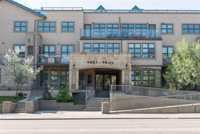Main Photo: 303, 9603 98 Avenue in Edmonton: Condo for rent