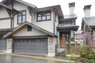 "Photo 1: 11 555 RAVEN WOODS Drive in North Vancouver: Roche Point Townhouse for sale in ""SIGNATURE ESTATES OF RAVENWOODS"" : MLS®# R2495900"