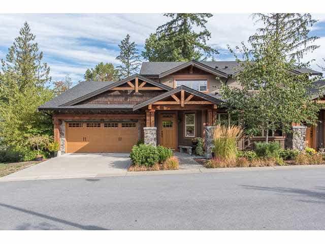 "Main Photo: 85 24185 106B Avenue in Maple Ridge: Albion Townhouse for sale in ""TRAILS EDGE BY OAKVALE"" : MLS®# V1143588"