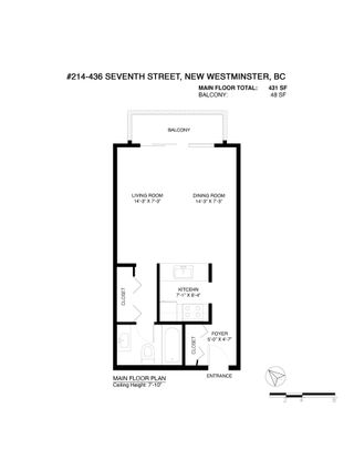 """Photo 24: 214 436 SEVENTH Street in New Westminster: Uptown NW Condo for sale in """"Regency Court"""" : MLS®# R2608175"""