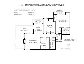 "Photo 40: 403 3788 W 8TH Avenue in Vancouver: Point Grey Condo for sale in ""LA MIRADA"" (Vancouver West)  : MLS®# R2536801"
