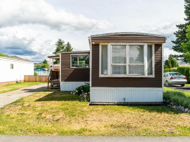 Main Photo: 140 2400 OAKDALE Way in Kamloops: Westsyde Manufactured Home/Prefab for sale : MLS®# 162619