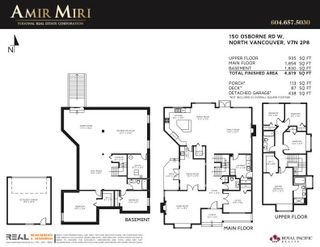 Photo 37: 150 W OSBORNE Road in North Vancouver: Upper Lonsdale House for sale : MLS®# R2625704