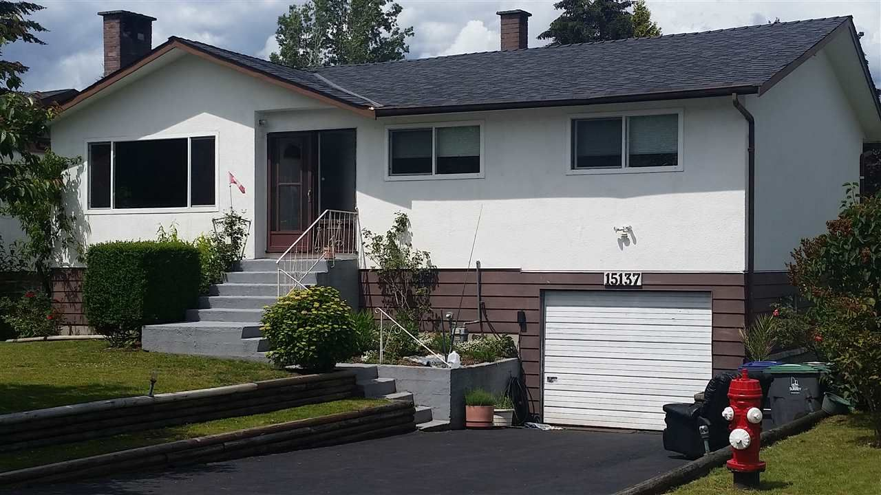 """Main Photo: 15137 PHEASANT Drive in Surrey: Bolivar Heights House for sale in """"birdland"""" (North Surrey)  : MLS®# R2076526"""