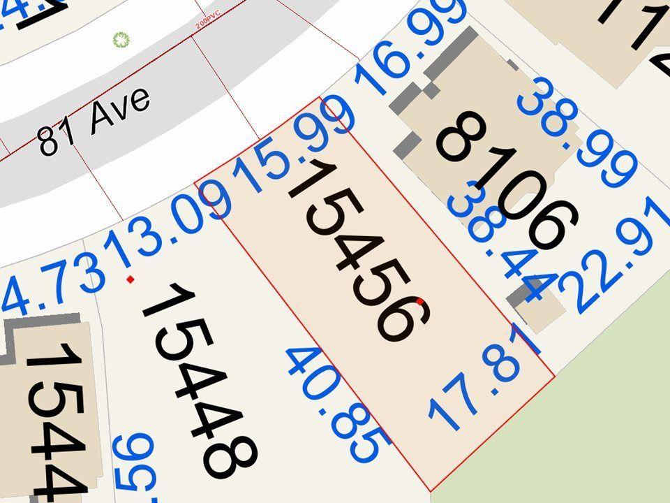Main Photo: 15456 81 Avenue in Surrey: Fleetwood Tynehead Land for sale : MLS®# R2287943