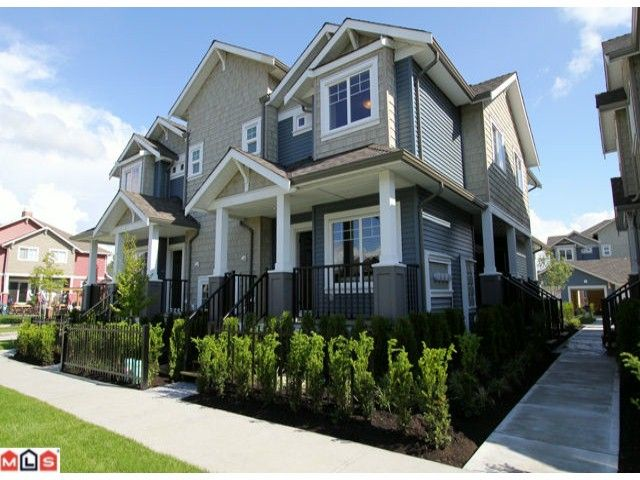 Main Photo: A1 19296 72A Avenue in Surrey: Clayton Townhouse for sale (Cloverdale)  : MLS®# F1217771