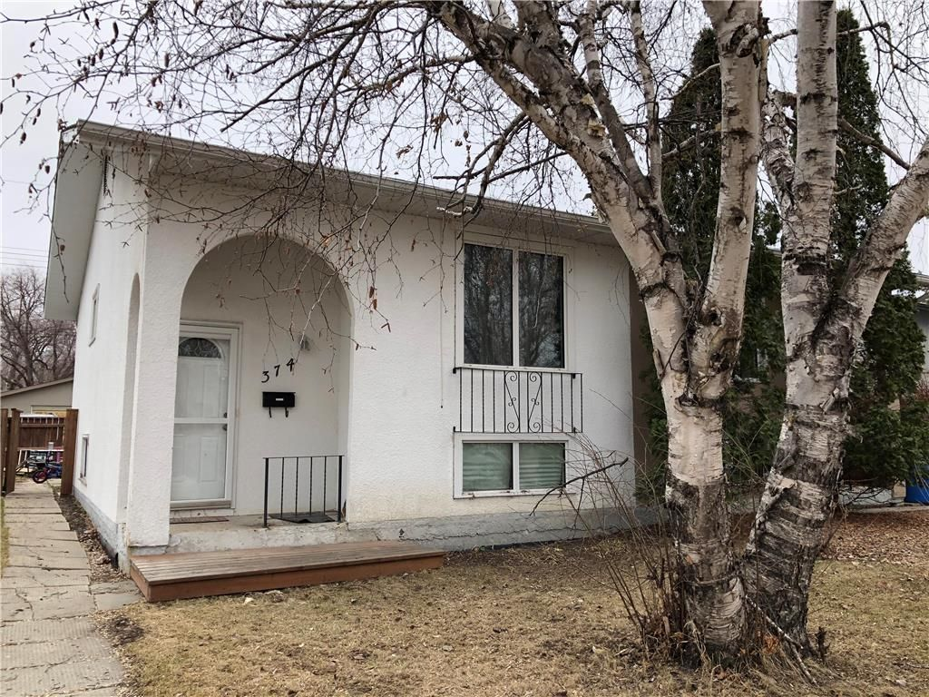 Main Photo: 374 McMeans Avenue in Winnipeg: East Transcona Residential for sale (3M)  : MLS®# 202013447