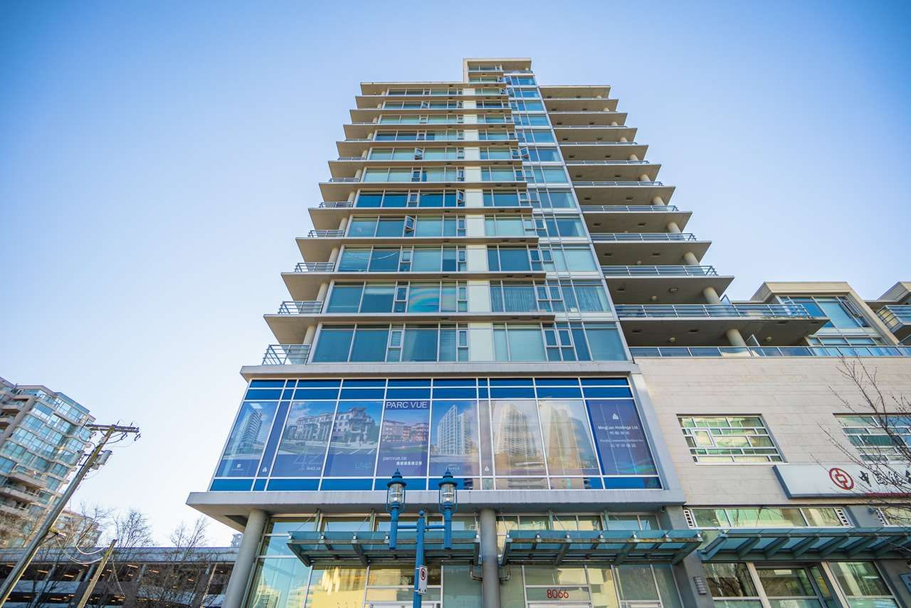 Main Photo: 810 8068 WESTMINSTER Highway in Richmond: Brighouse Condo for sale : MLS®# R2461219