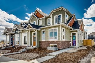 Photo 1: 141 Chinook Gate Boulevard SW: Airdrie Row/Townhouse for sale : MLS®# A1039883