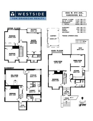 """Photo 30: 4545 W 6TH Avenue in Vancouver: Point Grey House for sale in """"Point Grey"""" (Vancouver West)  : MLS®# R2575660"""