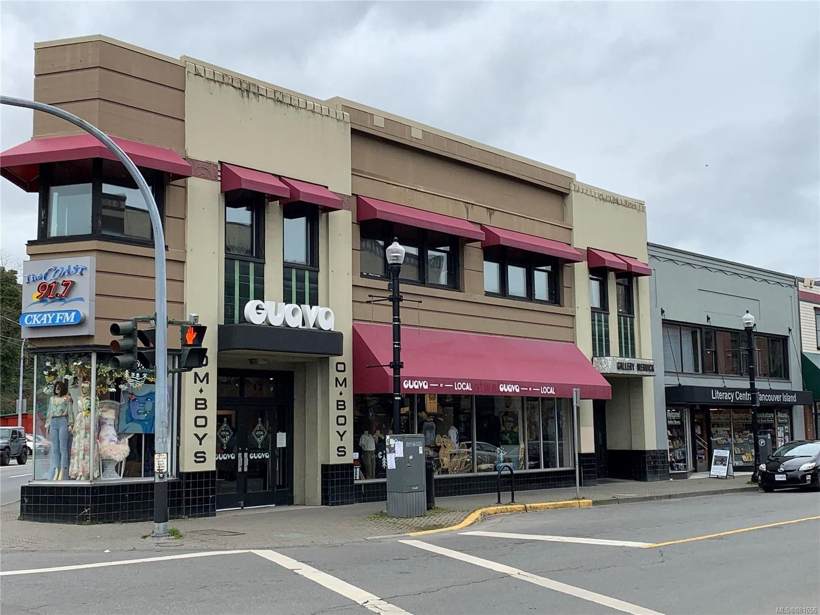 Main Photo: A 15 Commercial St in : Na Old City Mixed Use for lease (Nanaimo)  : MLS®# 881656
