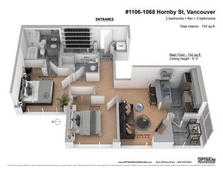 """Photo 26: 1106 1068 HORNBY Street in Vancouver: Downtown VW Condo for sale in """"The Canadian at Wall Centre"""" (Vancouver West)  : MLS®# R2485432"""