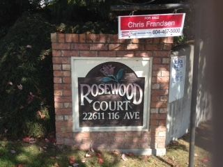 """Main Photo: 204 22611 116 Avenue in Maple Ridge: East Central Condo for sale in """"ROSEWOOD COURT"""" : MLS®# R2211037"""