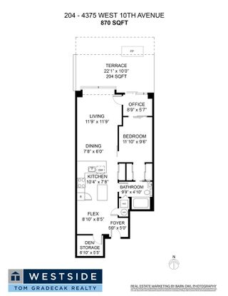 """Photo 35: 204 4375 W 10TH Avenue in Vancouver: Point Grey Condo for sale in """"The Varsity"""" (Vancouver West)  : MLS®# R2552003"""