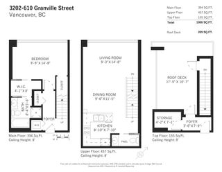 Photo 17: PH3202 610 GRANVILLE STREET in Vancouver: Downtown VW Condo for sale (Vancouver West)  : MLS®# R2604994
