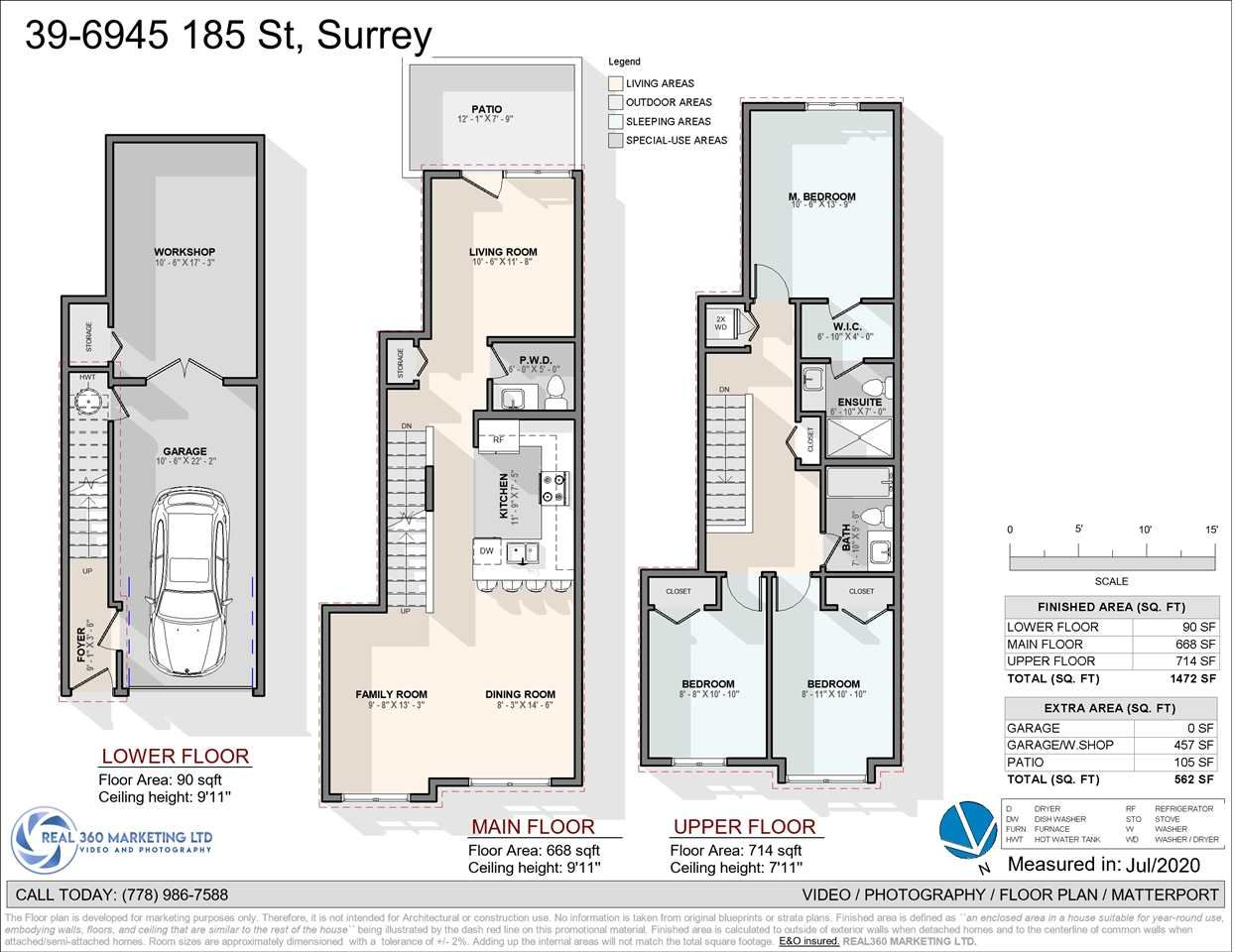Main Photo: 39 6945 185 STREET in Surrey: Cloverdale BC Townhouse for sale (Cloverdale)  : MLS®# R2473318