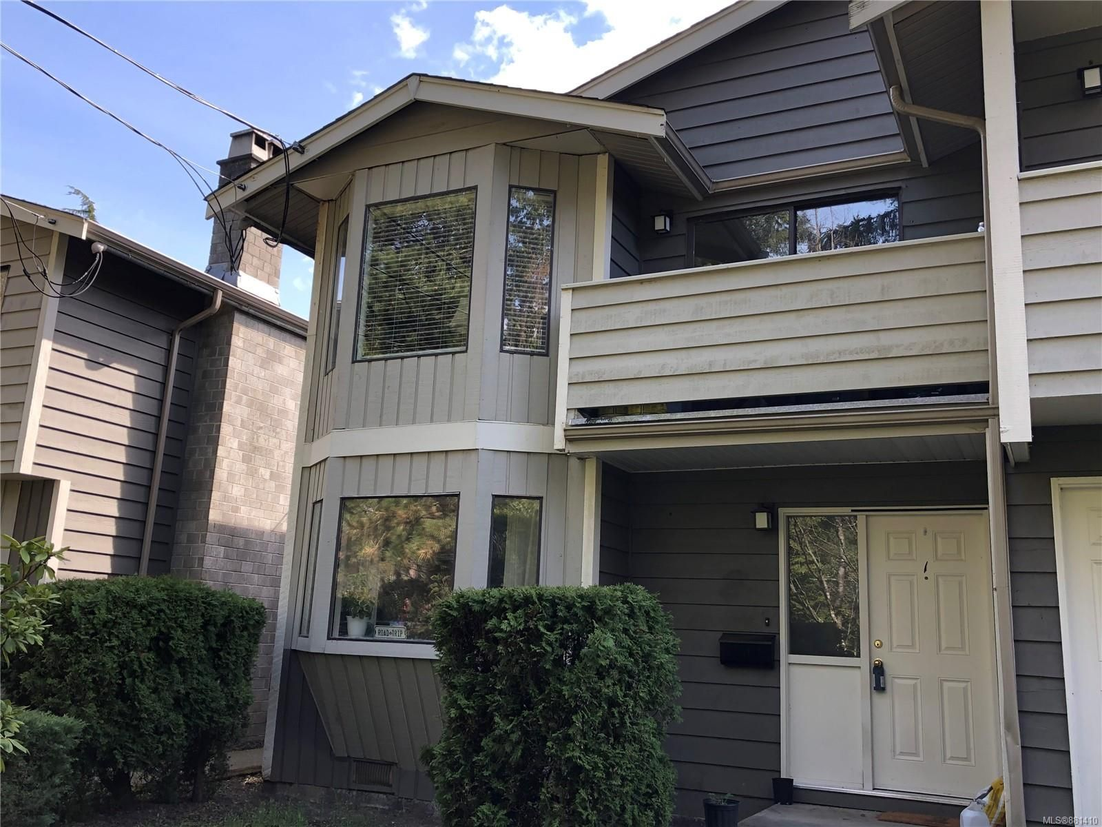 Main Photo: 1 211 Buttertubs Pl in : Na University District Row/Townhouse for sale (Nanaimo)  : MLS®# 881410