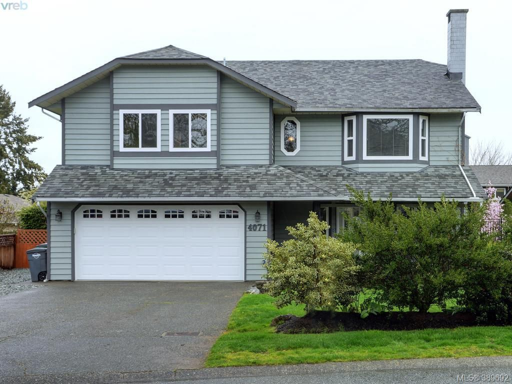 Main Photo: 4071 Santa Anita Ave in VICTORIA: SW Strawberry Vale House for sale (Saanich West)  : MLS®# 783110
