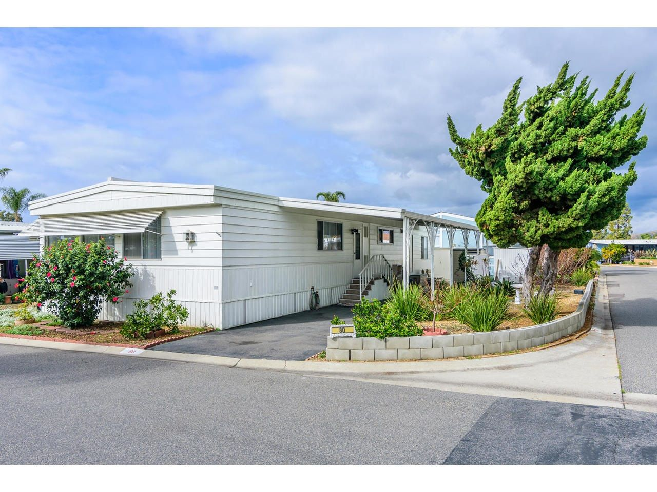 Main Photo: OCEANSIDE Manufactured Home for sale : 2 bedrooms : 200 N El Camino Real #80