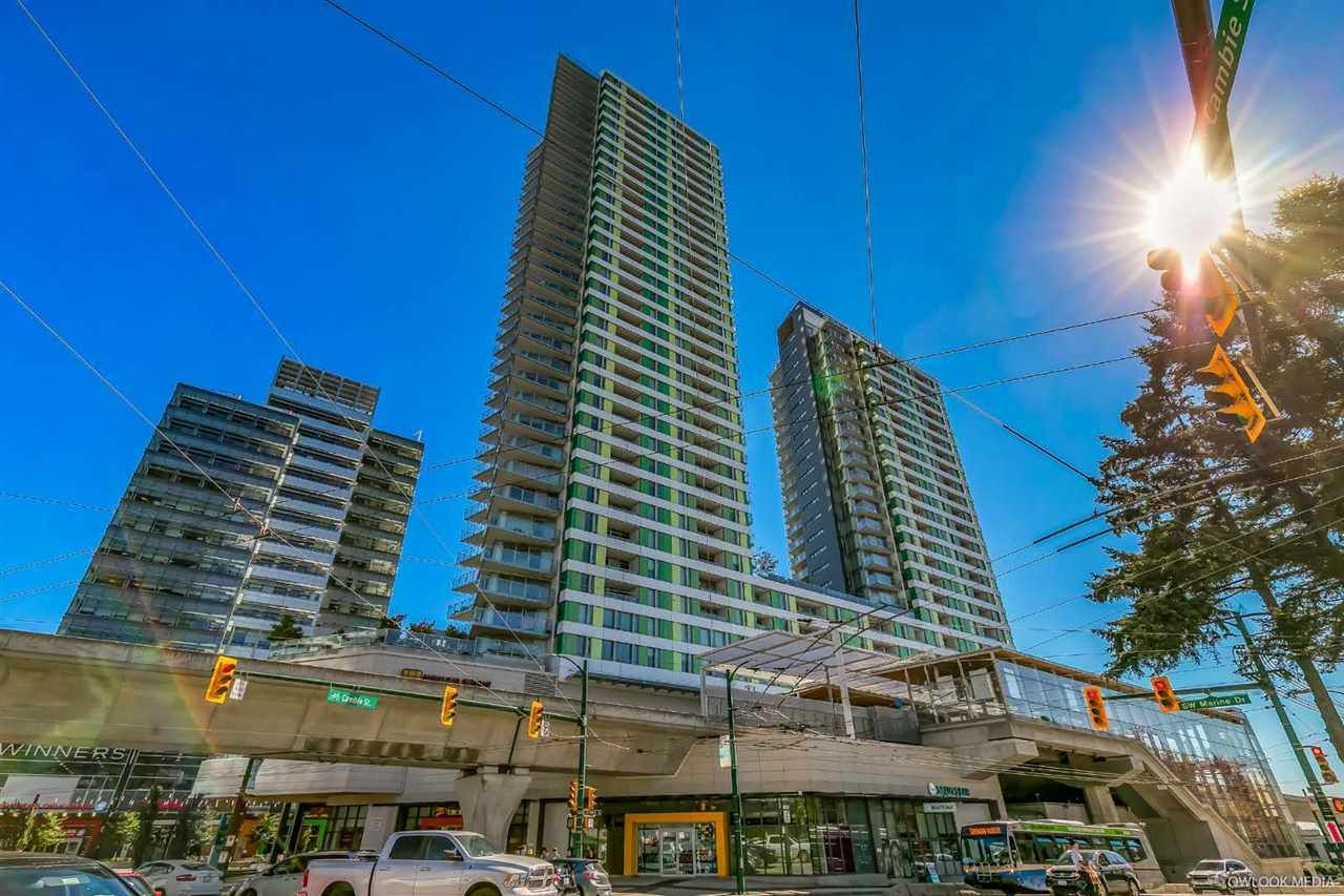 Main Photo: 2806 488 SW MARINE DRIVE in Vancouver: Marpole Condo for sale (Vancouver West)  : MLS®# R2339848