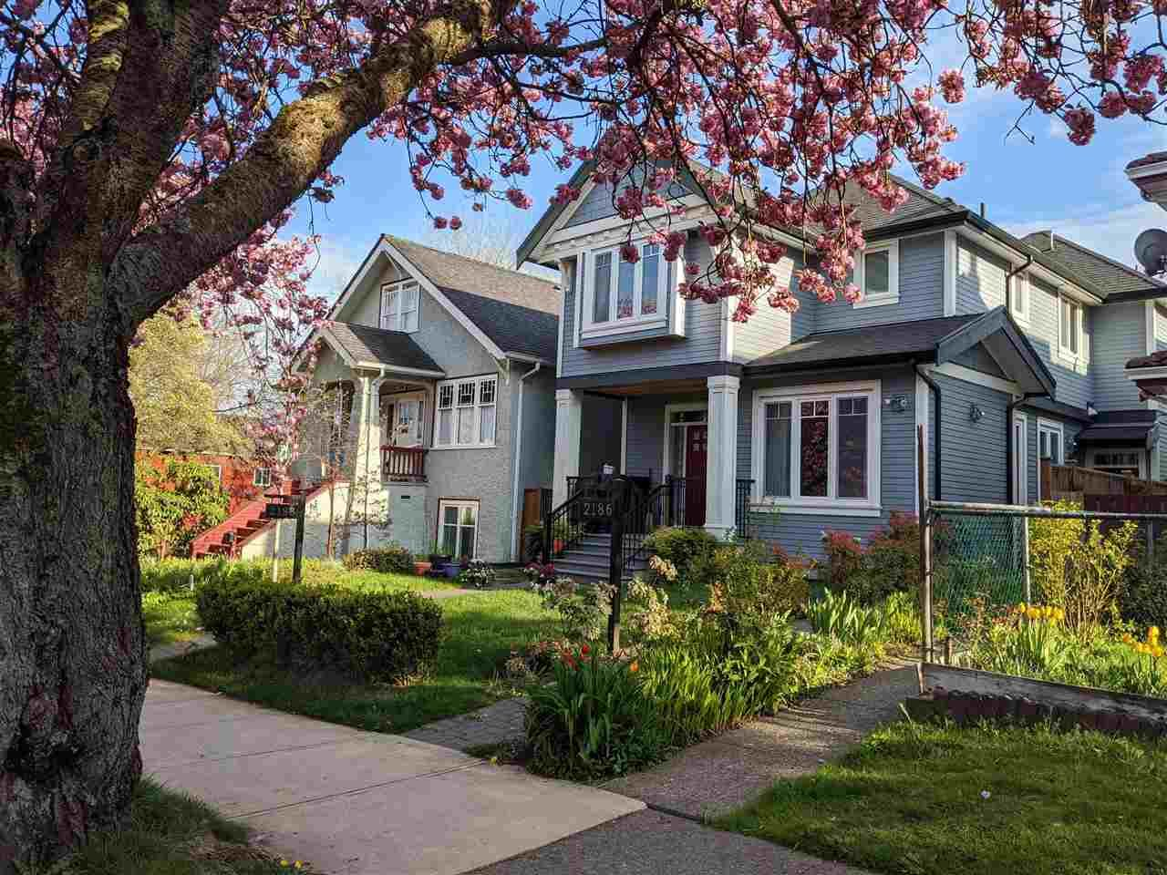 Main Photo: 2188 WILLIAM STREET in Vancouver: Grandview Woodland 1/2 Duplex for sale (Vancouver East)  : MLS®# R2490502