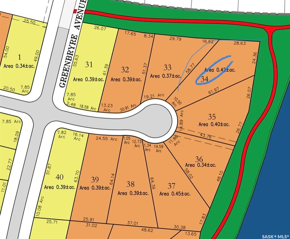 Main Photo: 613 Greenbryre Bay in Greenbryre: Lot/Land for sale : MLS®# SK870353