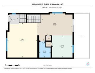 Photo 2: 110 9535 217 Street in Edmonton: Zone 58 Townhouse for sale : MLS®# E4257363