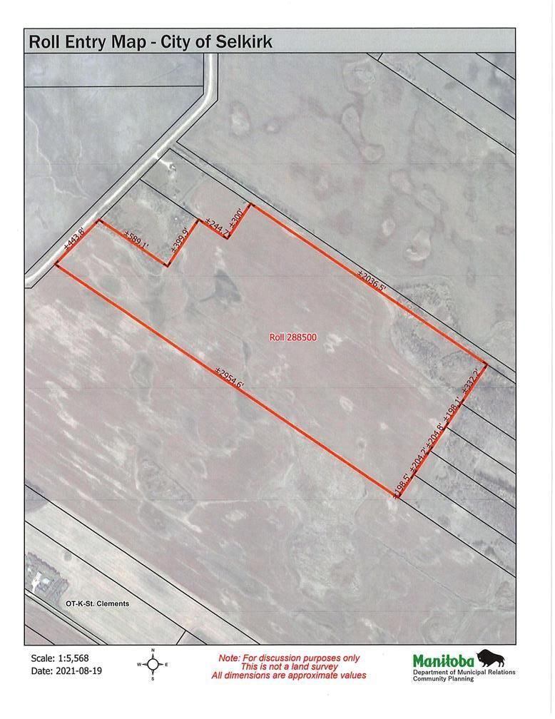 Main Photo: 0 Boundary Road in Selkirk: Vacant Land for sale : MLS®# 202120911