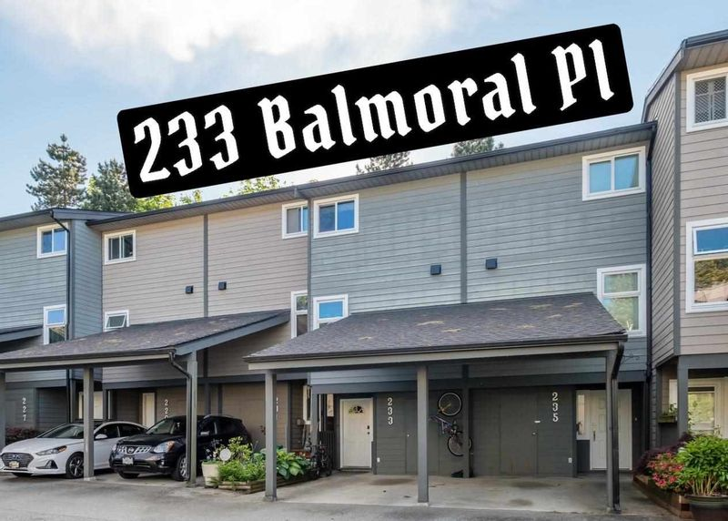 FEATURED LISTING: 233 BALMORAL Place Port Moody