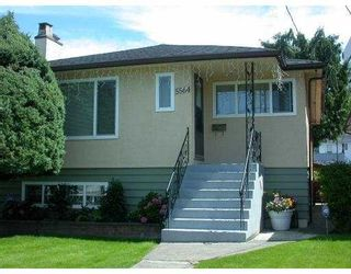 Photo 1: 5564 ORMIDALE Street in Vancouver: Collingwood Vancouver East House for sale (Vancouver East)  : MLS®# V661785