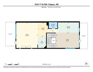Photo 47: 3435 17 Street SW in Calgary: South Calgary Row/Townhouse for sale : MLS®# A1063068