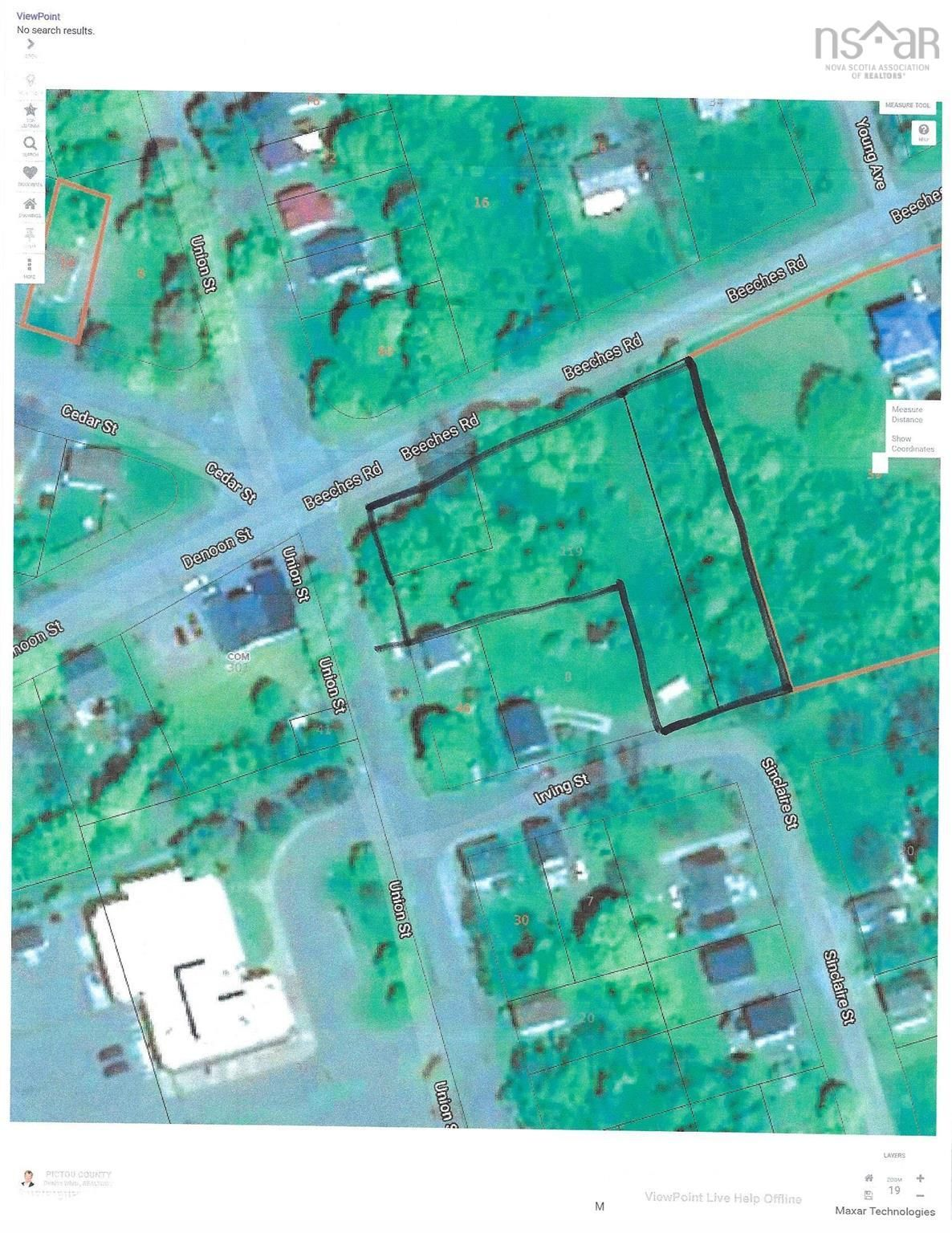 Main Photo: 119 Beeches Road in Pictou: 107-Trenton,Westville,Pictou Vacant Land for sale (Northern Region)  : MLS®# 202123675