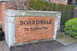 "Photo 2: 207 700 KLAHANIE Drive in Port Moody: Port Moody Centre Condo for sale in ""Boarwalk"" : MLS®# R2021637"