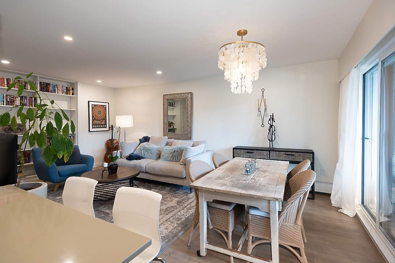 Photo 2: Photos: 207 1425 CYPRESS Street in Vancouver: Kitsilano Condo for sale (Vancouver West)  : MLS®# R2538226