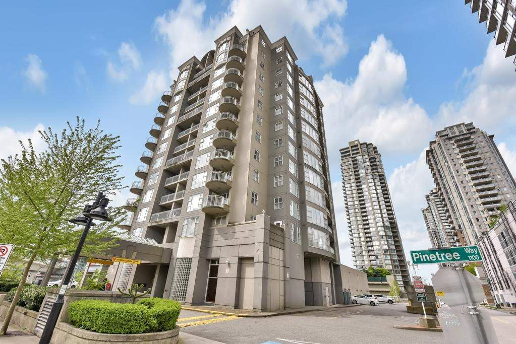 """Main Photo: 507 1180 PINETREE Way in Coquitlam: North Coquitlam Condo for sale in """"THE FRONTENAC"""" : MLS®# R2601579"""