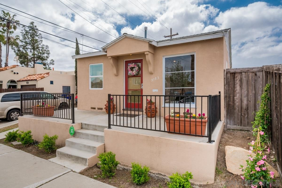 Main Photo: NORMAL HEIGHTS House for sale : 2 bedrooms : 3183 Monroe Avenue in San Diego