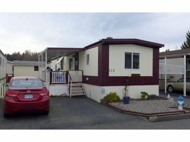 """Main Photo: 112 3300 HORN Street in Abbotsford: Central Abbotsford Manufactured Home for sale in """"Georgia Park"""" : MLS®# F1401893"""