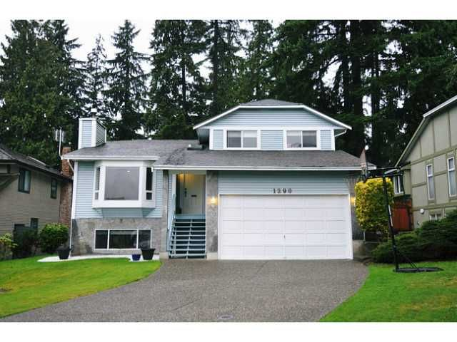 Main Photo: 1290 DURANT Drive in Coquitlam: Scott Creek House for sale : MLS®# V1090321