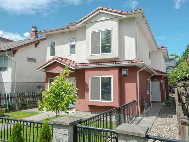 """Main Photo: 479 E 16TH Avenue in Vancouver: Mount Pleasant VE 1/2 Duplex for sale in """"MOUNT PLEASANT"""" (Vancouver East)  : MLS®# V1066960"""