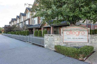 """Photo 26: 22 7121 192 Street in Surrey: Clayton Townhouse for sale in """"Allegro"""" (Cloverdale)  : MLS®# R2510383"""