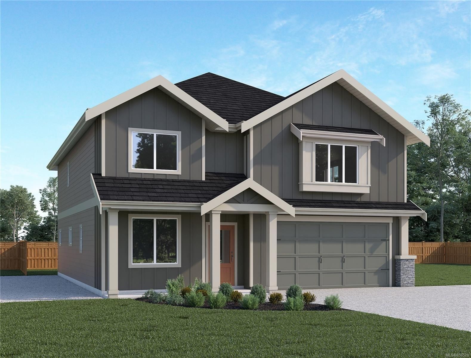 Artist Rendering is of similar plan, but actual construction and colour will vary.