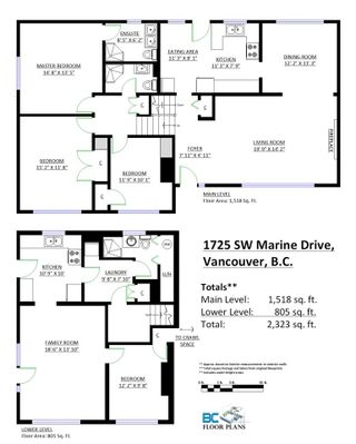 Photo 3: 1725 SW MARINE Drive in Vancouver: S.W. Marine House for sale (Vancouver West)  : MLS®# R2066190