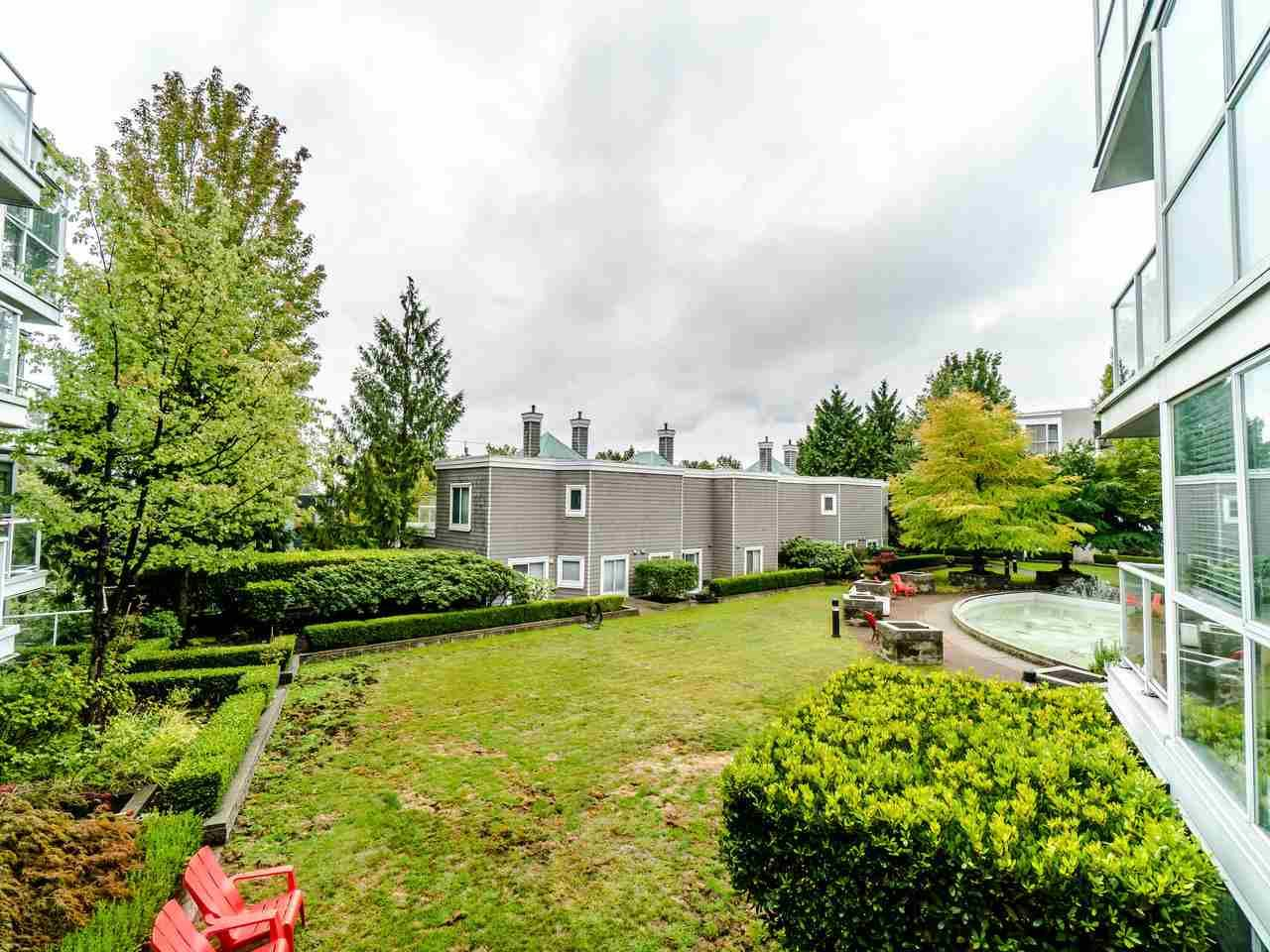 """Main Photo: 210 8450 JELLICOE Street in Vancouver: South Marine Condo for sale in """"THE BOARDWALK"""" (Vancouver East)  : MLS®# R2406380"""