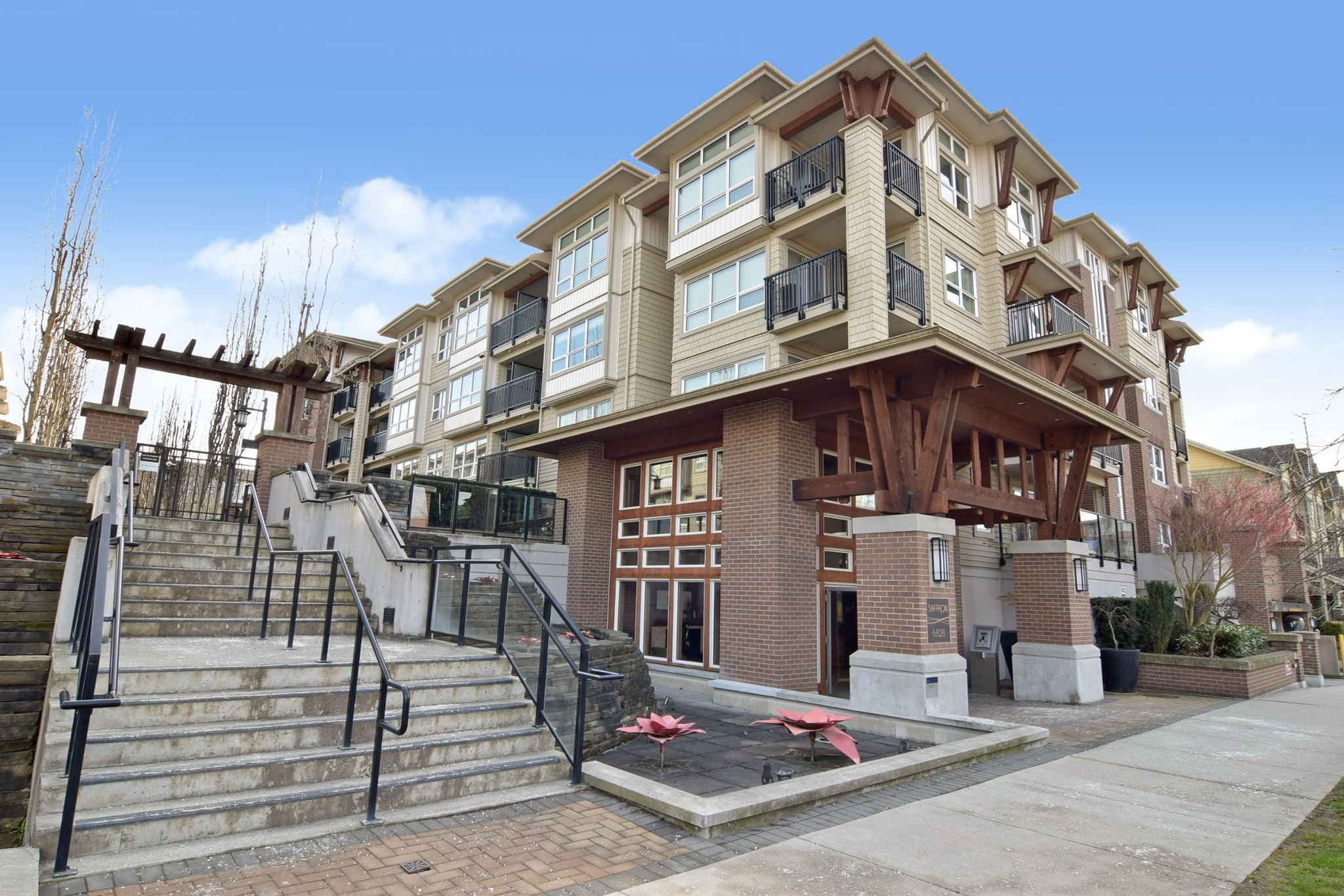 "Main Photo: 417 6828 ECKERSLEY Road in Richmond: Brighouse Condo for sale in ""SAFFRON"" : MLS®# R2552659"