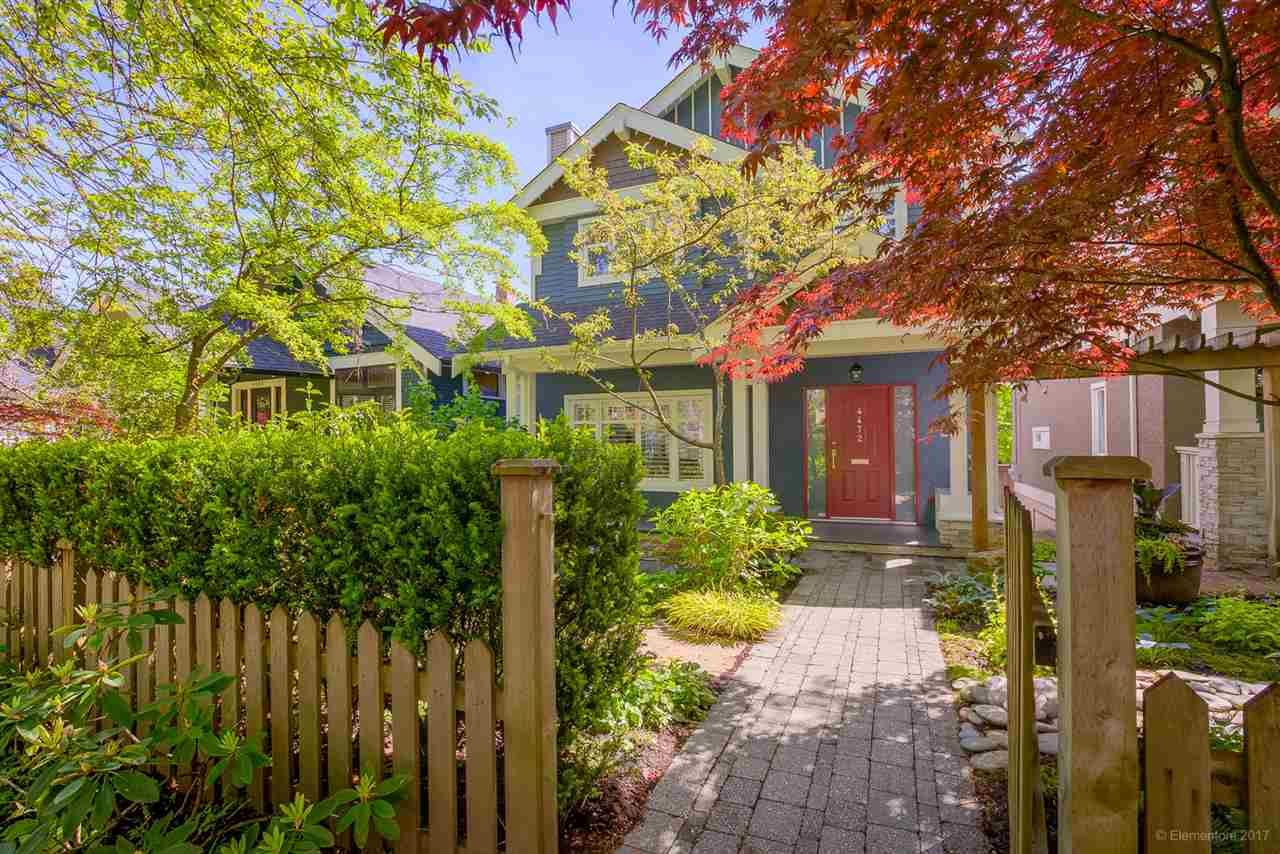 Main Photo: 4472 QUEBEC Street in Vancouver: Main House for sale (Vancouver East)  : MLS®# R2169124