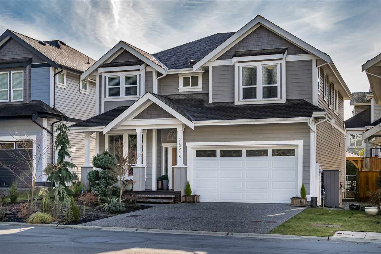 """Main Photo: 24348 104A Avenue in Maple Ridge: Albion House for sale in """"SPENCERS GREEN"""" : MLS®# R2435076"""