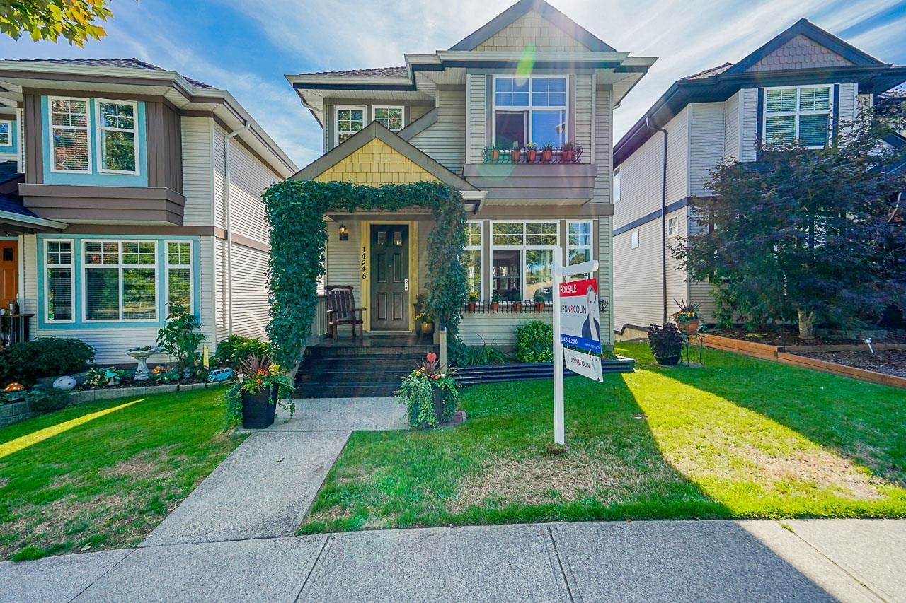 """Main Photo: 14946 57 Avenue in Surrey: Sullivan Station House for sale in """"Panorama Village"""" : MLS®# R2616113"""