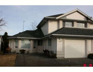 """Photo 1: 117 31406 UPPER MACLURE Road in Abbotsford: Abbotsford West Townhouse for sale in """"Estates of Ellwood"""" : MLS®# F2901446"""